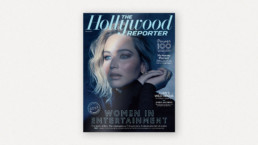 Gloss Moderne advert in the December edition of The Hollywood Reporter
